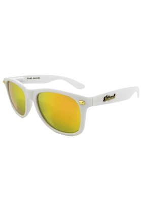 KNOCKAROUND Fort Knocks Unisex Sunglasses Matte White/Sunset-FKGL1021 (Use Code FB20 To Get 20% Off On Purchase Of Rs.1800)