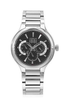 Mens Black Dial Stainless Steel Multi-Function Watch - CRA105SN02MS