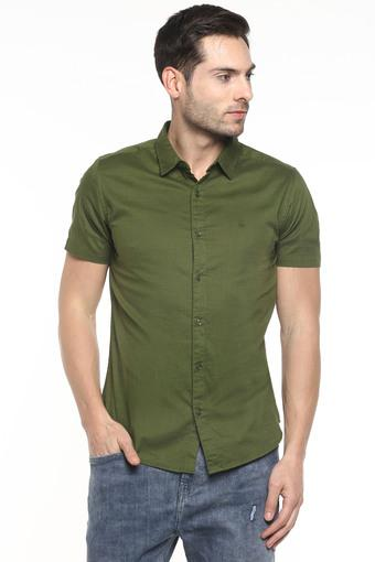 UNITED COLORS OF BENETTON -  OliveCasual Shirts - Main