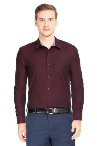 VETTORIO FRATINI -  MaroonFormal Shirts - Main
