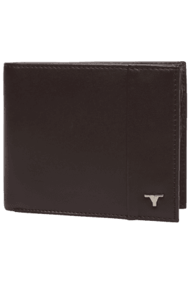 BUL018WMens Leather 1 Fold Wallet