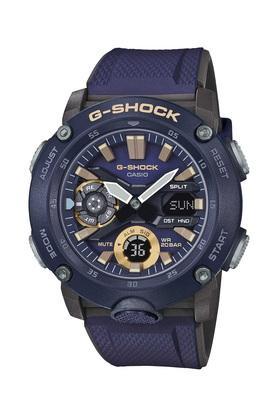 Mens G Shock Purple Dial Resin Analogue-Digital Watch - GA-2000-2ADR (G951)