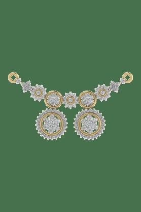 TARA JEWELLERSWomens 18 Karat Gold And Diamond Mangalsutra Pendant - 200944712_9999