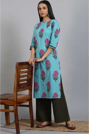 JANASYA -  GreenIndianwear Sets - Main
