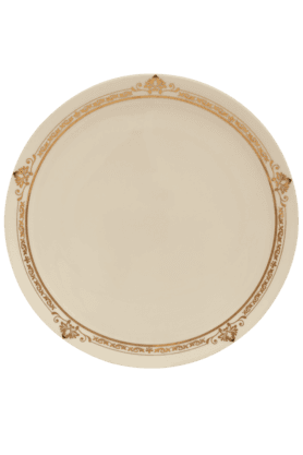 Adriana Gold Dinner Plate