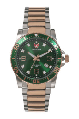 SWISS EAGLEMens Analog Watch