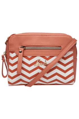 LAVIE Womens Creamsicle Leather Sling Bag