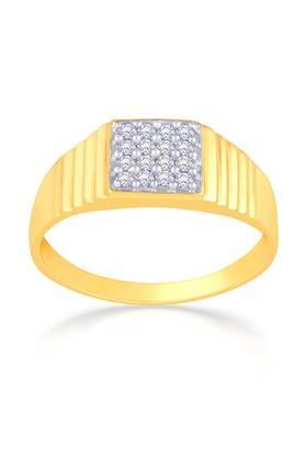 MALABAR GOLD AND DIAMONDSMens Mine Diamond Ring JSDRCR6427 Size 25
