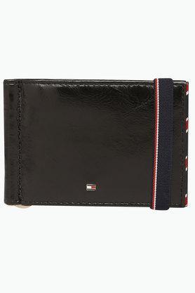 TOMMY HILFIGERMens Trento Leather 1 Fold Wallet