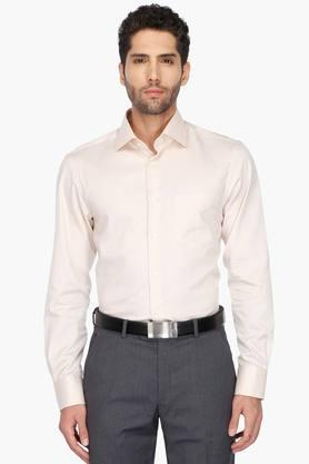 Zodiac Formal Shirts (Men's) - Mens Regular Collar Solid Shirt