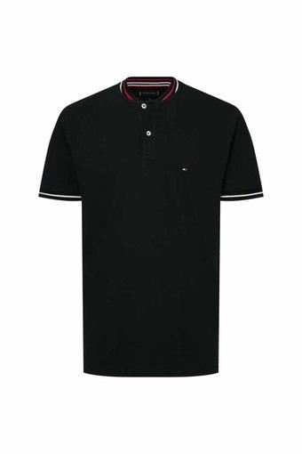 TOMMY HILFIGER -  Black T-Shirts & Polos - Main