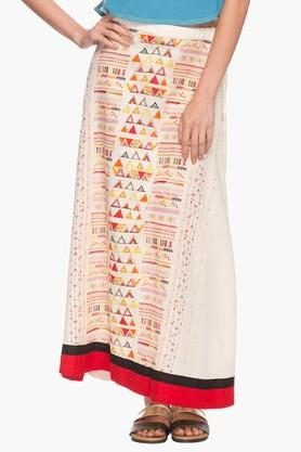 IMARA Womens Printed Long Skirt - 202172741