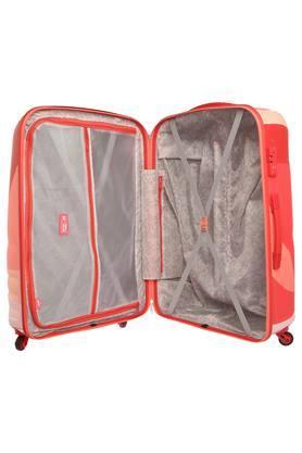 Unisex 1 Compartment Zip Closure Hard Trolley