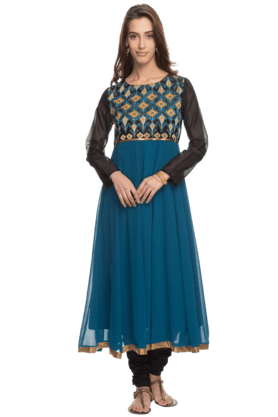 IMARA Women Anarkali Churidar Suit