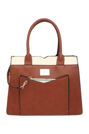 ALLEN SOLLY -  Tan Handbags - Main
