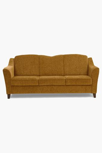 Scarlet Rust Fabric Sofa (3 - Seater)
