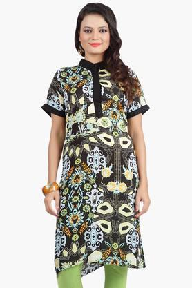JASHN Womens Digital Print Kurta