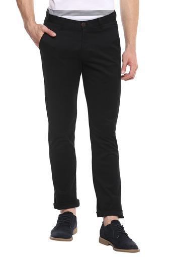 VAN HEUSEN SPORT -  BlackCasual Trousers - Main