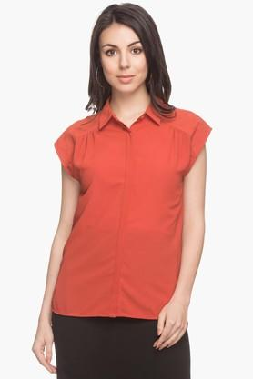Womens Collared Top