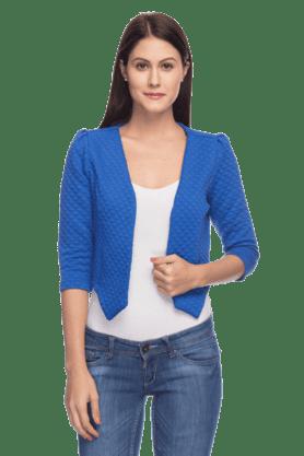 Women Crop Sleeves Jacket