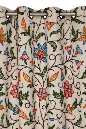 Embroidered Polyester Door Curtain