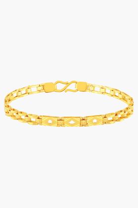 MALABAR GOLD AND DIAMONDSMens 22 KT Gold Bracelet - 201391276