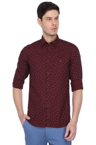 LOUIS PHILIPPE SPORTS -  Maroon Shirts - Main