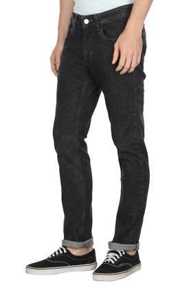 Mens 5 Pocket Rinse Wash Jeans