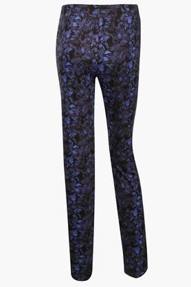 Womens Floral Print Track Pants