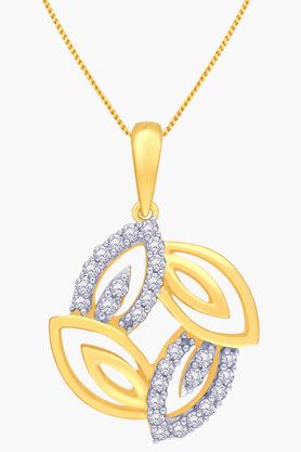 Womens Mine Diamond Pendant