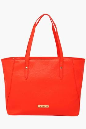 CAPRESE Womens Cathrine Zipper Closure Tote Handbag
