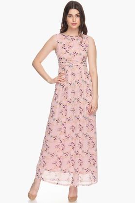 Womens Printed Maxi Dress