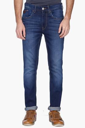 U.S. POLO ASSN. DENIMMens Skinny Fit Mild Wash Jeans ( Regallo Fit)