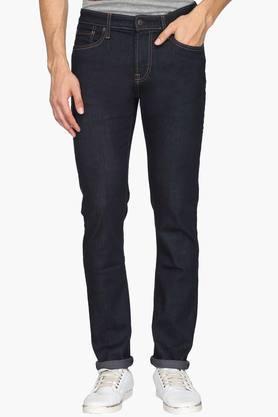 Aeropostale Jeans (Men's) - Mens Skinny Fit 5 Pocket Rinse Wash Jeans