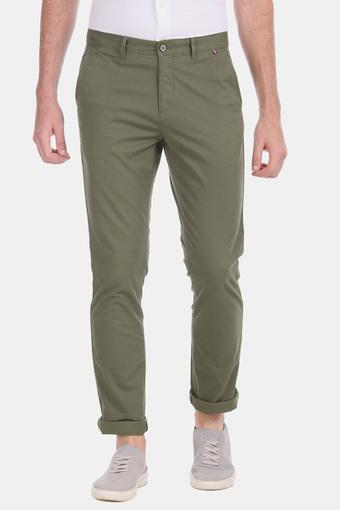 U.S. POLO ASSN. -  Olive Cargos & Trousers - Main