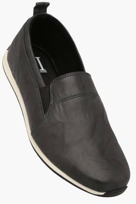 FRANCO LEONE Mens Leather Slipon Casual Shoe