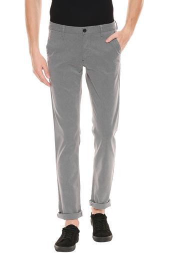 LOUIS PHILIPPE -  Light GreyFormal Trousers - Main