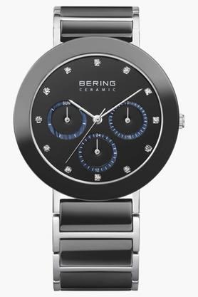 BERINGUnisex Ceramic Black Round Analogue Watch 11438-742