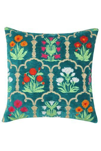 A024 -  Turquoise Cushion Cover - Main
