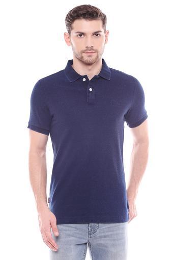 SUPERDRY -  IndigoT-Shirts & Polos - Main