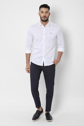 ALLEN SOLLY - WhiteCasual Shirts - 3