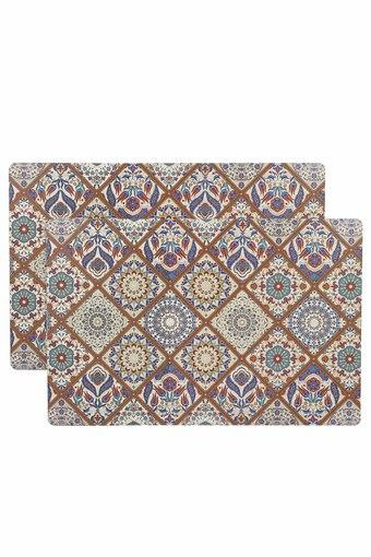 Classic Printed Place Mat - Set of 2
