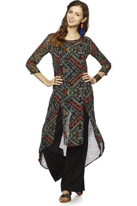 GLOBAL DESI Women Polyester Kurta