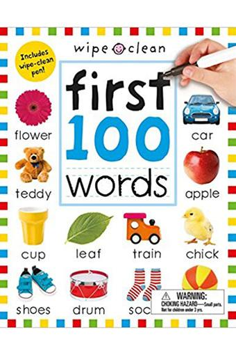 Wipe Clean: First 100 Words