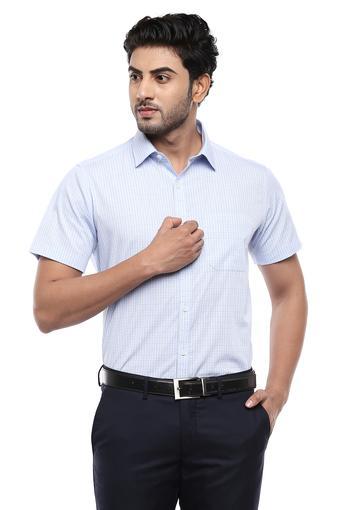 STOP -  Light BlueFormal Shirts - Main