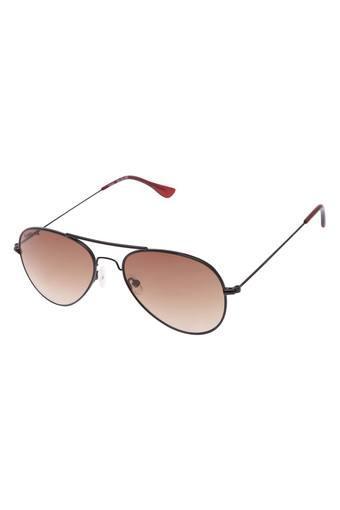 Unisex Aviator UV Protected Sunglasses - NBM139BR1F