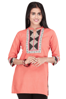 STOP Women Cotton Kurta - 9860486