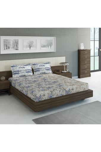 D'DECOR -  BlueSingle Bed Sheets - Main