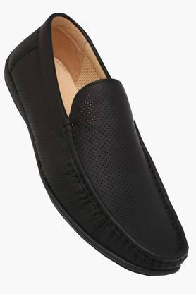 TRESMODE Mens Leather Slip On Loafers  ...