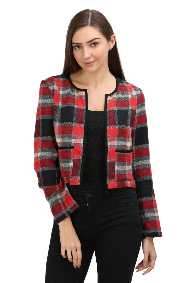 STOP - Red Formal Jackets - Main